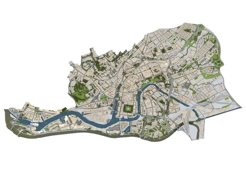 Bristol Design - 3D City Model