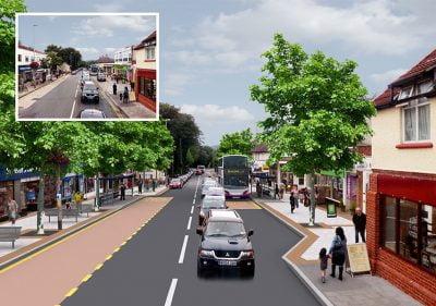 Bristol Design - 3D Road Layout
