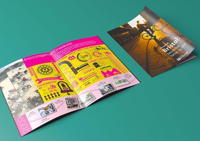 Bristol Design - Better By Bike Booklet