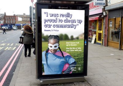 Bristol Design - Campaign Clean Streets Adshel Poster