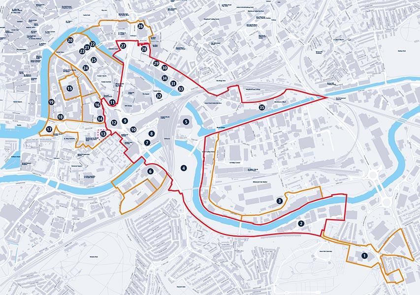 Bristol Design - Cartography - Enterprise Zone Expansion Map