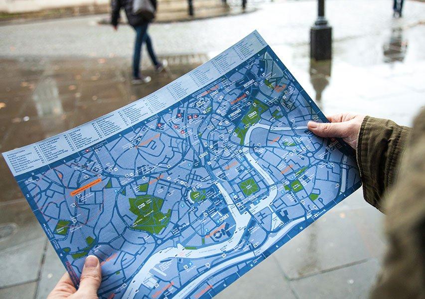 Bristol Design - Cartography Legible City Printed Map