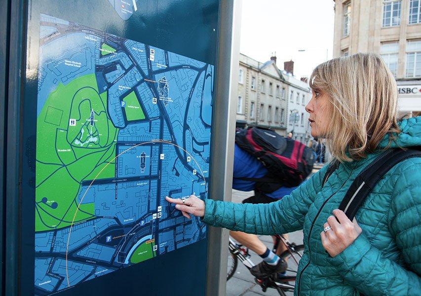 Bristol Design - Cartography Legible City Signage2