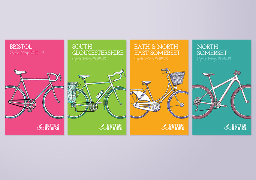 Bristol Design Cycle Map Covers