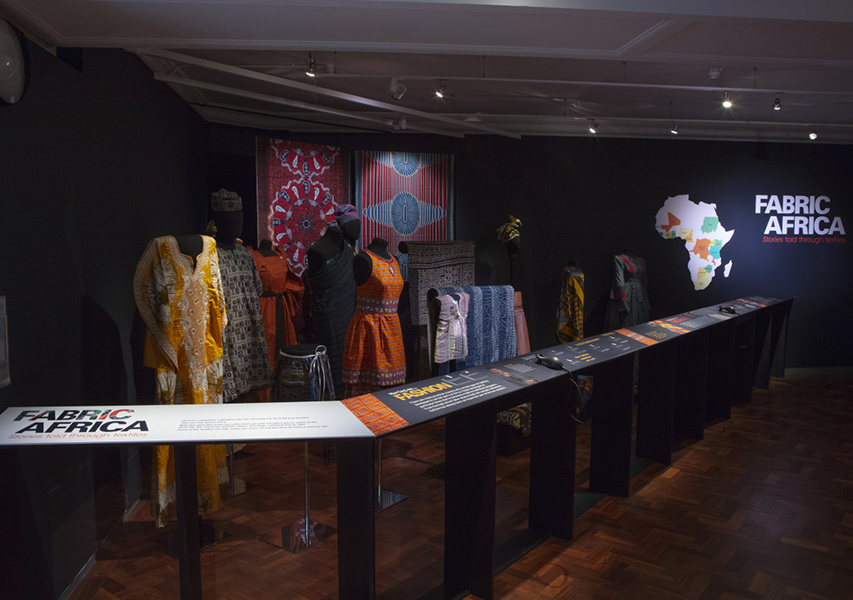 Bristol Design Fabric Africa Exhibition