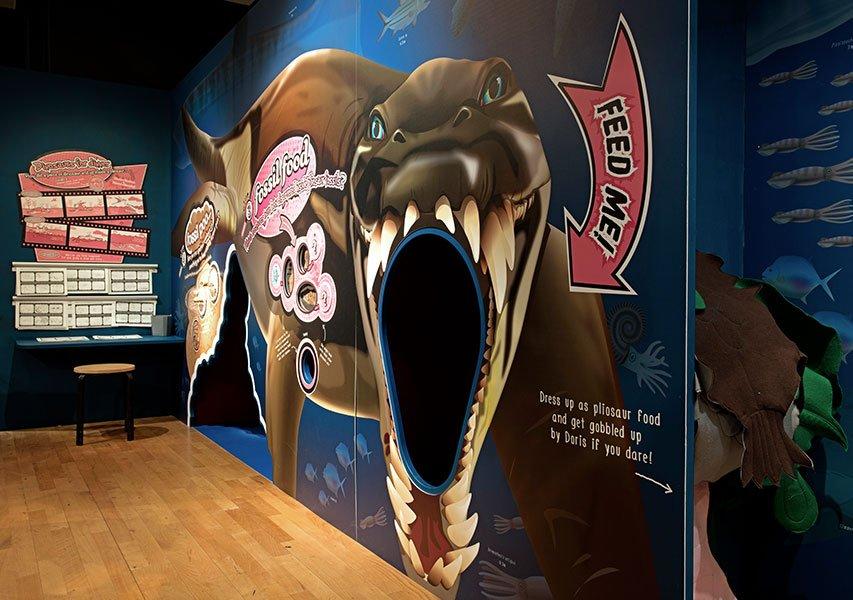 Bristol Design Pliosaurus Exhibition © Jamie Woodley