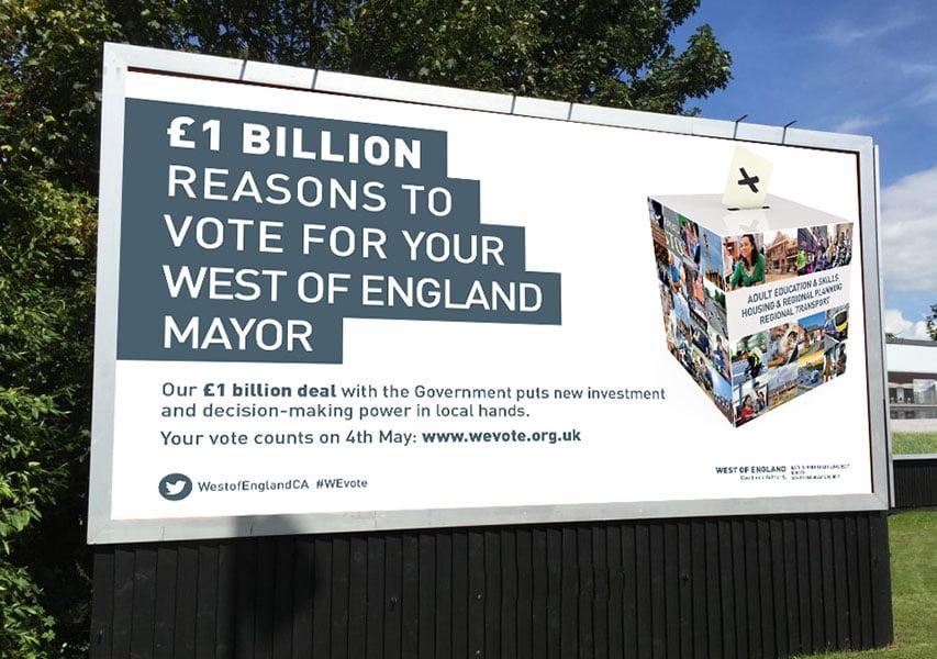 Bristol Design - WECA Billboard Ad