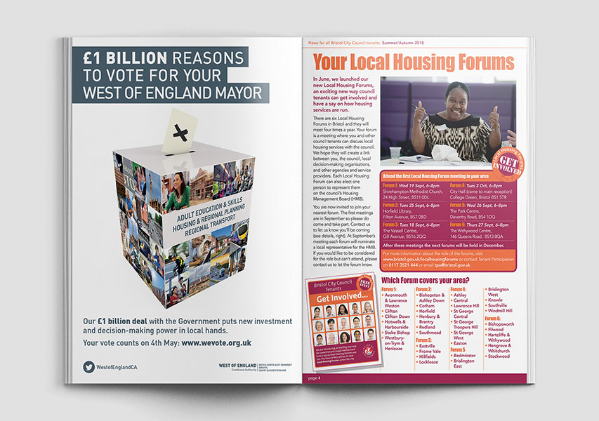 Bristol Design - WECA Magazine Ad