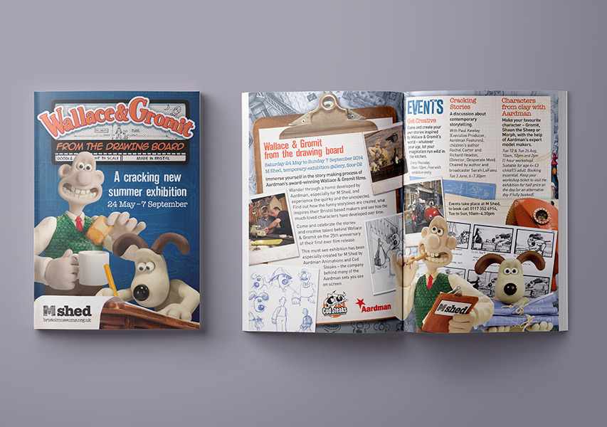 Bristol Design - Wallace & Gromit Mshed