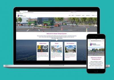 Bristol Design - Web_Bristol Temple Quarter Website