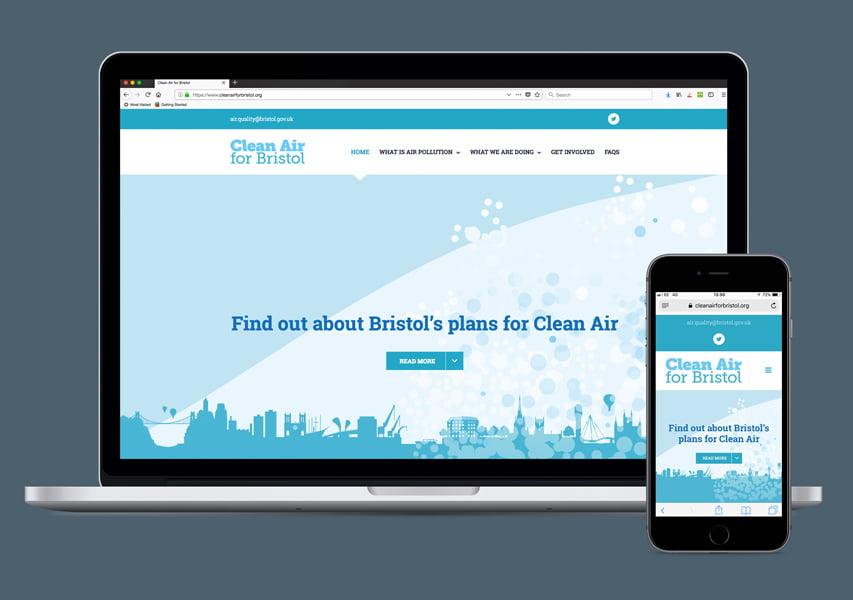 Bristol Design - Web_Clean Air For Bristol Website
