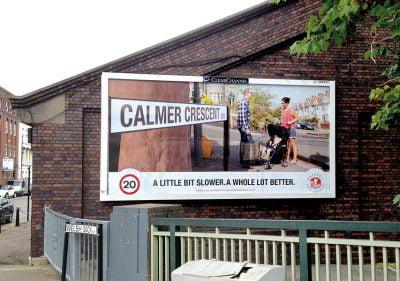 Bristol Desing - Bristol 20mph Campaign Billboard Ad