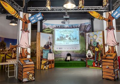 Bristol Design - Shaun the Sheep Game Lab